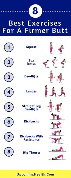 Workout Exercise The 8 Exercise Butt Toning Routine For A Firmer Butt (With Exercise Instructions) - Here are 8 butt-focused exercises that will get you the butt you deserve. Bringing you the best butt toning exercises for this year! Toning Workouts, Butt Workout, At Home Workouts, Daily Exercise Routines, Dumbbell Workout, Bum Workout Toned, Exercise At Home, Dance Exercise, Fitness Routines