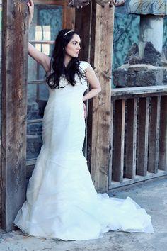 Rustic bridal photos