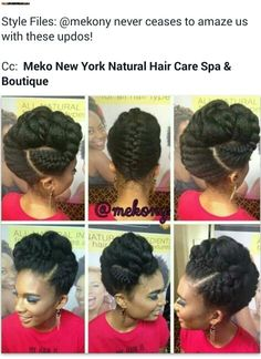 Idée coiffure - Hairstyle idea
