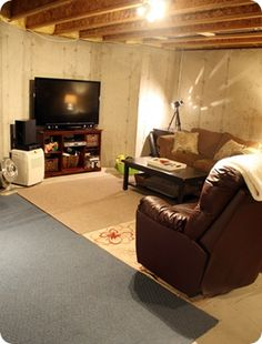 1000 images about unfinished basement on pinterest unfinished basements unfinished. Black Bedroom Furniture Sets. Home Design Ideas