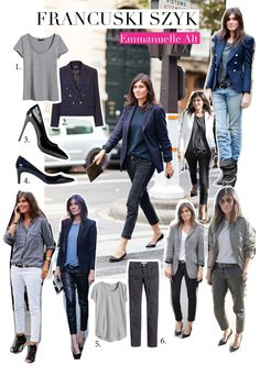 Styl i szyk po 40stce na przykładzie Emmanuelle Alt Emmanuelle Alt, Parisian Chic Style, Solange Knowles, Kendall Jenner Outfits, French Chic, Victoria Dress, Couture Week, Fashion Outfits, Fashion Tips