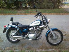 Yamaha XV 125 Virago moje 1. motorka :)