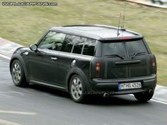 Mini Clubman fits both the lil' one and the dog