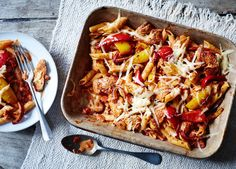 Everyone loves a fajita, but we've removed the wraps and given it a pasta twist – great for dinner and even better cold for lunch