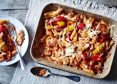 Image: Chicken fajita pasta