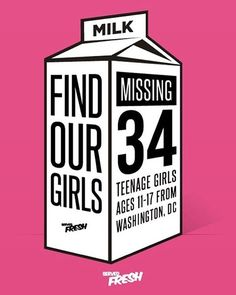 "#FindOurGirlsDC Repost via @servedfresh: "" Designed to bring awareness to the mysterious disappearance of several teenage girls of color from the Washington DC area this year. - Profits from the sale of this garment will be donated to a LEGITIMATE EFFORT or REWARD organized to aid in the safe return of these children. - Should you have any information or can help facilitate this process please email : FindOurGirls@ServedFreshCollection.com - ServedFreshCollection.com  LINK IN BIO…"