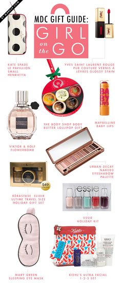 Holiday Gift Guide for the Girl on the Go // #presents