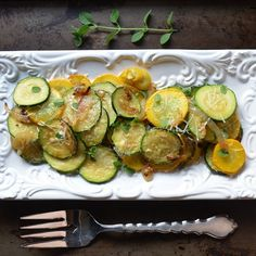 Don't like zucchini? Bet you'll love this recipe! Simple,unbelievably tasty & healthy- Italian Style Sauteed Onion and Zucchini Rounds.