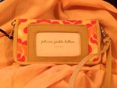 New wallet. LOVE IT.  Petunia Pickle Bottom