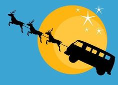 vw bus christmas