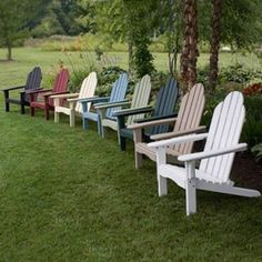 I really want to get some of these chairs for my yard