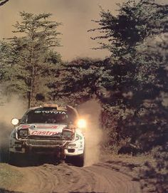 Arne Hertz, com Toyota Celica Turbo 4WD, vence o Rallye Safari 1995