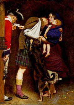'The Order of Release 1746', Sir John Everett Millais, Bt, 1852-3 | Tate