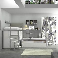 55 fantastiche immagini su camere ragazzi | Bedroom ideas, Dream ...