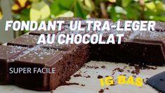 [Recette Minceur & IG Bas] Mon Fondant au chocolat ULTRA LEGER Calories, Nutrition, The Creator, Vegan, Chocolate, Desserts, Index, Baguette, Youtube