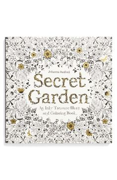 | Chronicle Books Johanna Basford 'Secret Garden' Coloring  Activity Book |