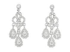 Nina Bridal Gerbera Crystal Chandelier Earrings #Dillards ...