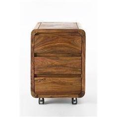 Szafka kontener Authentico 3 szuflady, kare design
