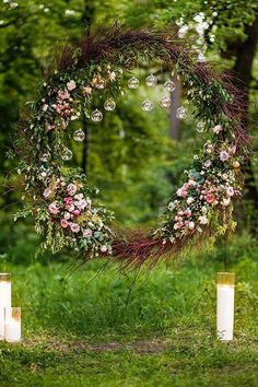 The Top Wedding Trends for According to The Experts Floral wedding arch with glass terrariums Wedding Reception Planning, Wedding Ceremony Backdrop, Arch Wedding, Wedding Table, Rustic Wedding, Floral Wedding, Wedding Flowers, Terrarium Wedding, Top Wedding Trends
