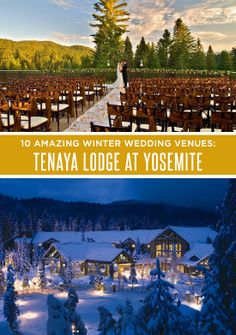 Winter Wedding Venues: Tenaya Lodge at Yosemite