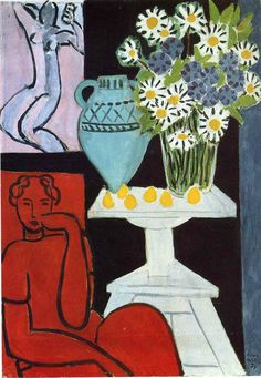 """ The Daisies, Henri Matisse 1939 """