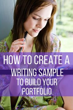 How to create a writing sample to build your portfolio and for writing jobs. Business Tips, Online Business, Writing Portfolio, Freelance Writing Jobs, Tips Online, Learning To Write, Writing Tips, Entrepreneurship, Get Started