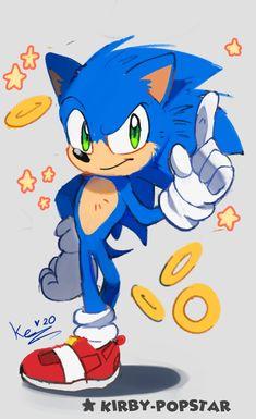 Sonic Movie by Kirby-Popstar on DeviantArt Sonic The Hedgehog, Hedgehog Movie, Hedgehog Art, Sonic Mania, Sonic 3, Sonic Fan Art, Fotos Do Sonic, Steven Universe, Marvel Universe