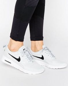 Nike Air Max Thea Trainers In Pale Grey