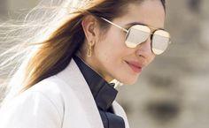 ff5f63545a Dior Split sunglasses  redefining the aviator shades - LaiaMagazine  Mirrored Aviator Sunglasses