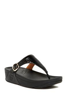 The Skinny Wedge Sandal