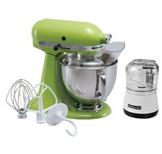 I HAVE DREAMED OF THIS MY WHOLE LIFE! LOVE AT FIRST SIGHT! <3 Buy KitchenAid Artisan Stand Mixer with Bonus Mini Chopper & $50 Mail-In Rebate, KitchenAid and Mixers from The Shopping Channel, Canada's home shopping network - Online Shopping for Canadians #ilovetoshop