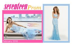 """AS SEEN IN SEVENTEEN PROM"" by camillelavie ❤ liked on Polyvore featuring women's clothing, women, female, woman, misses and juniors"