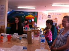 Bumps Rosie, Sarah & Christine (and one of our 2012 babies!) at our cake meet