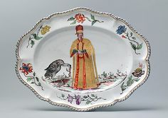 Platter (one of a set) - ca. 1745 /  Doccia manufactory / Florence, Italy