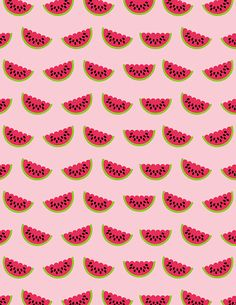 Free Printable Watermelon Paper from @chicfetti