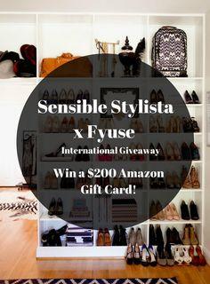Sensible Stylista x Fyuse: Win a $200 Gift Card to Amazon