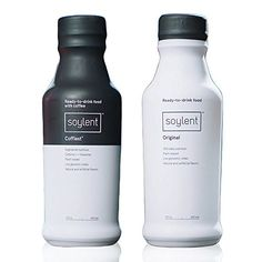 Soylent Bundle: Original & Coffiest Flavors, Nutritionally Complete Ready to Drink Beverage, 14 oz, 1 Bottle Per Flavor Protein Mix, What You Eat, Healthy Drinks, Microwave, Nom Nom, Beverages, Feels, Nutrition
