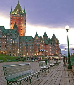 Quebec Summer Attractions /