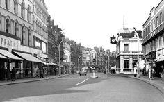 Old photo of High Road c1960, Streatham