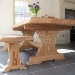 Waney edge refectory dining table – Mar-17 3
