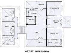 Amazing Traditional Japanese House Floor Plan Design Idea ...