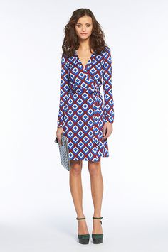The DVF wrap dress...classic