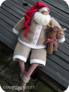 Babbo Natale Tilda by countrykitty, via Flickr