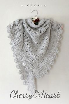 Victoria shawl crochet pattern FOR SALE~ k8~