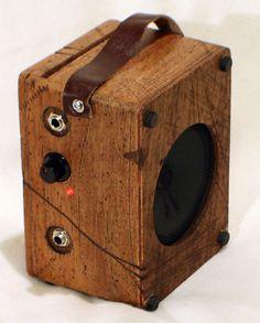 Portable Cigar Box Amplifier