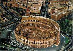 Italien Rom Postkarte 8 Kolosseum