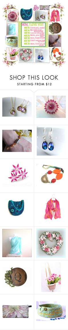 """""""I Love You Mom"""" by belladonnasjoy ❤ liked on Polyvore featuring Untold and Scialle"""