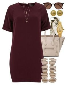 """Untitled #1259"" by power-beauty ❤ liked on Polyvore featuring Cutler and Gross, Rolex, CÉLINE, Dorothy Perkins and Chanel"