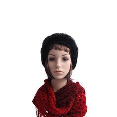 45495e7bd4470 Gorro Preto com Pêlo  boinas  beret  berets  gorro Acessórios Femininos