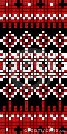 Seamless Knit Pattern Block 1 Stock Photos, Images, & Pictures – (9 Images)